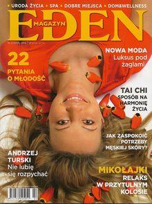 Magazyn Eden - miesięcznik - prenumerata roczna już od 7,00 zł
