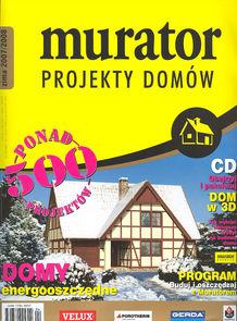 Murator - Projekty Domów - kwartalnik - prenumerata roczna już od 6,90 zł