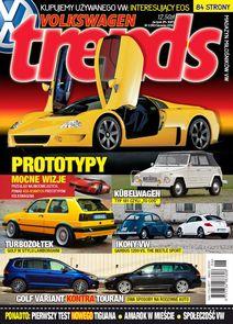 Magazyn Miłośników Vw Trends - kwartalnik - prenumerata roczna już od 12,50 zł