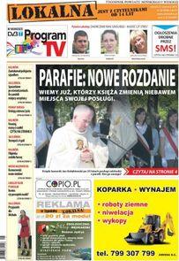 Lokalna - tygodnik - prenumerata kwartalna już od 2,00 zł