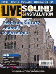 Live Sound Polska - dwumiesięcznik - prenumerata kwartalna już od 8,90 zł