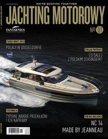 Jachting Motorowy - miesięcznik - prenumerata półroczna już od 24,70 zł