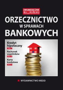 Orzecznictwo W Sprawach Bankowych