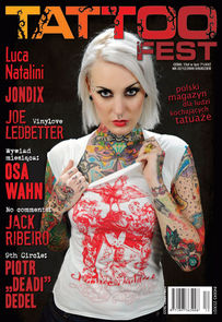 Tattoo Fest - miesięcznik - prenumerata półroczna już od 15,00 zł