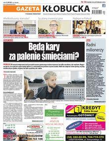 Gazeta Kłobucka - tygodnik - prenumerata roczna już od 2,50 zł