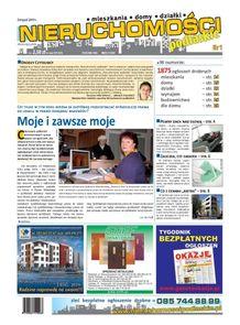 Nieruchomości Podlaskie - miesięcznik - prenumerata kwartalna już od 2,99 zł