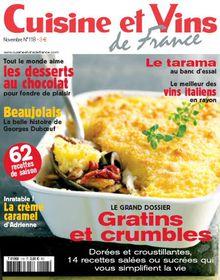Cuisine & Vins De France - dwumiesięcznik - prenumerata roczna już od 25,90 zł
