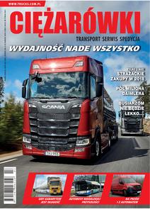 Ciężarówki - miesięcznik - prenumerata kwartalna już od 7,90 zł