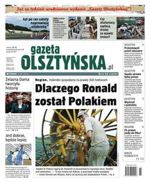 Gazeta Olsztyńska - dziennik - prenumerata półroczna już od 1,74 zł