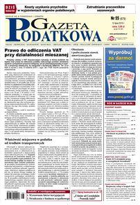 Gazeta Podatkowa - dziennik - prenumerata kwartalna już od 3,85 zł