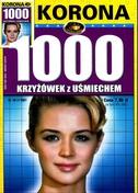 1000 Krzyżówek Z Uśmiechem - miesięcznik - prenumerata roczna już od 5,90 zł