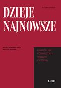 Dzieje Najnowsze - kwartalnik - prenumerata kwartalna już od 21,00 zł