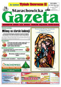 Gazeta Starachowicka - 24 Godziny - tygodnik - prenumerata kwartalna już od 2,50 zł