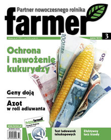 Farmer - miesięcznik - prenumerata kwartalna już od 12,00 zł