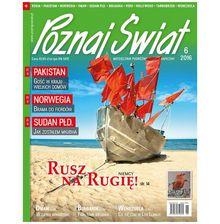 Poznaj Świat - miesięcznik - prenumerata roczna już od 9,08 zł