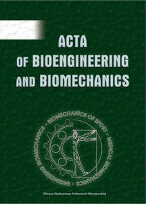 Acta Of Bioenginering And Biomechanics - półrocznik - prenumerata kwartalna już od 35,00 zł
