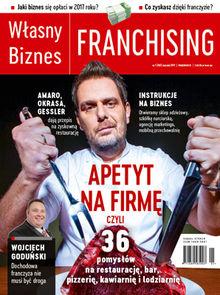 Własny Biznes Franchising - miesięcznik - prenumerata kwartalna już od 7,50 zł