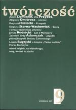 Twórczość - miesięcznik - prenumerata kwartalna już od 9,00 zł