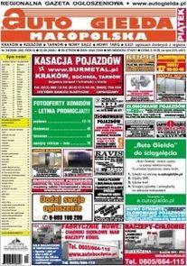 Auto Giełda Malopolska - miesięcznik - prenumerata kwartalna już od 3,30 zł