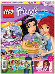 Lego Friends Magazyn - dwumiesięcznik - prenumerata kwartalna już od 11,99 zł
