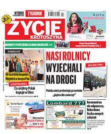 Życie Krotoszyna - tygodnik - prenumerata kwartalna już od 3,20 zł