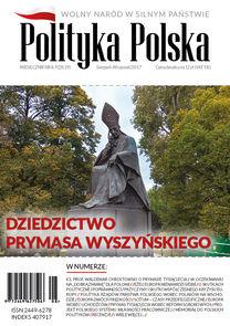 Polityka Polska - miesięcznik - prenumerata półroczna już od 12,00 zł
