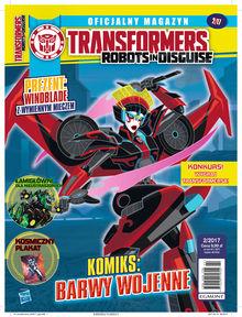 Transformers Robots In Disguise - dwumiesięcznik - prenumerata kwartalna już od 9,99 zł