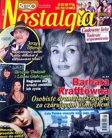 Nostalgia - miesięcznik - prenumerata kwartalna już od 2,49 zł