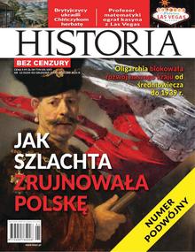 Bez Cenzury Historia - miesięcznik - prenumerata półroczna już od 8,99 zł