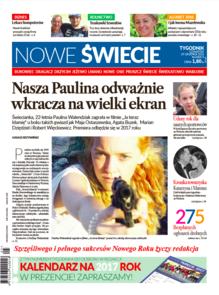 Nowe Świecie - tygodnik - prenumerata kwartalna już od 2,50 zł