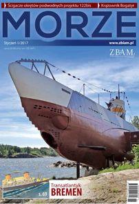 Morze - miesięcznik - prenumerata kwartalna już od 14,99 zł