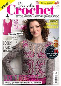 Simply Crochet - kwartalnik - prenumerata kwartalna już od 12,99 zł