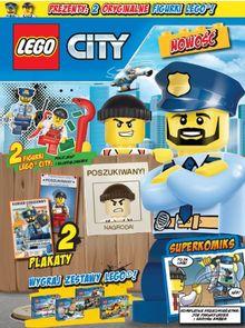 Lego City Magazyn - dwumiesięcznik - prenumerata roczna już od 11,99 zł