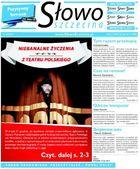 Słowo Szczecina - miesięcznik - prenumerata kwartalna już od 2,20 zł