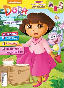 Nickelodeon. Dora Poznaje Świat - dwumiesięcznik - prenumerata roczna już od 9,99 zł
