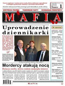 Mafia - miesięcznik - prenumerata półroczna już od 2,99 zł