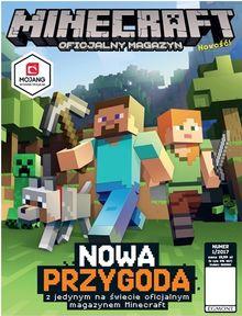 Minecraft Oficjalny Magazyn - dwumiesięcznik - prenumerata kwartalna już od 19,99 zł
