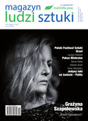 Magazyn Ludzi Sztuki - kwartalnik - prenumerata kwartalna już od 11,90 zł