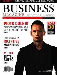 Business Magazine Strategie I Ludzie - miesięcznik - prenumerata kwartalna już od 9,90 zł
