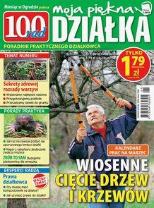 100 Rad. Moja Piękna Działka - miesięcznik - prenumerata kwartalna już od 1,99 zł